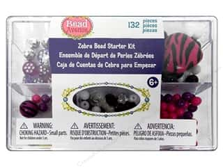 Bead Avenue Bead Starter Kit Zebra