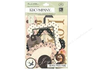 Scrapbooking & Paper Crafts Paper Die Cuts / Paper Shapes: K&Company Die Cut Cardstock Brenda Walton Maison