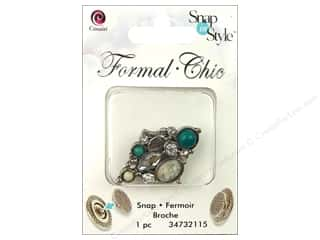 Cousin Snap in Style Snap Formal Diamond Cluster