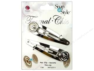 Cousin Snap In Style Base Formal Snap Hair Clip
