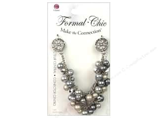 Cousin Corporation of America Animals: Cousin Make the Connection Connector Center Formal-Chic Pearl Cluster