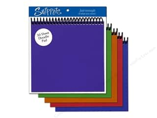 Crate Paper 6 x 6: Doodle Pad by Paper Accents 6 x 6 in. Assorted (3 pads)