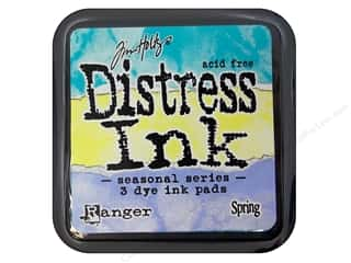 Tim Holtz Distress Pad Set Spring by Ranger 3pc