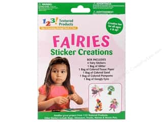 Textured Products 123 Sticker Creations Fairies