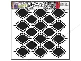 The Crafter's Workshop Template 12 x 12 in. Pointy Circles