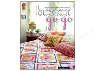 Stash Books An Imprint of C & T Publishing Table Runners / Kitchen Linen Books: Stash By C&T Hexa Go Go Book