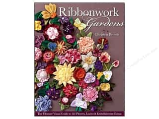 Ribbon Work Books & Patterns: C&T Publishing Ribbonwork Gardens Book by Christen Brown
