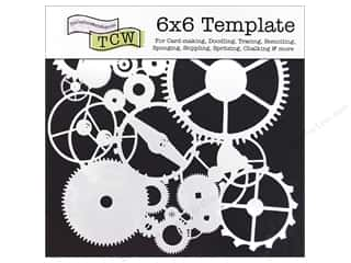 The Crafters Workshop Template 6x6 Gears