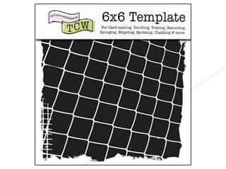 The Crafters Workshop Template 6x6 Fence Frame