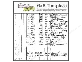 The Crafters Workshop Template 6x6 Ledger
