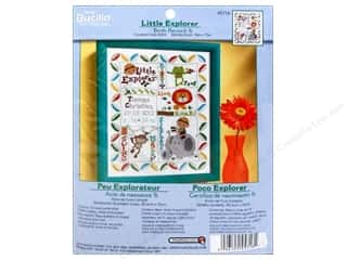 Weekly Specials Bucilla Beginner Cross Stitch Kit: Bucilla Xstitch Counted Birth RecordLittleExplorer