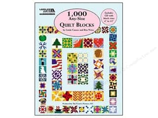 Printing Art Accessories: Leisure Arts 1,000 Any Size Quilts Blocks Book