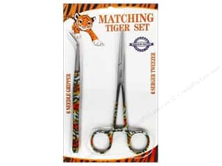 ToolTron Needle Gripper Serger Tweezer Set Tiger