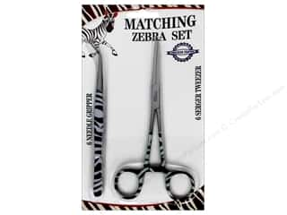 ToolTron Needle Gripper Serger Tweezer Set Zebra