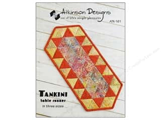 Common Thread Designs Table Runner & Kitchen Linens Patterns: Atkinson Designs Tankini Table Runner Pattern
