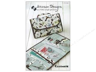 Atkinson Design Purses, Totes & Organizers Patterns: Atkinson Designs Classmate Pattern