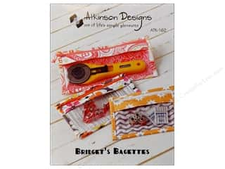 Atkinson Design Purses, Totes & Organizers Patterns: Atkinson Designs Bridget's Bagettes Pattern