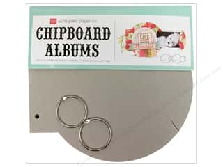 Chipboard Albums: Echo Park Album Chipboard Circular