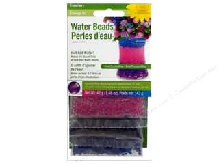 Beads $3 - $4: FloraCraft Water Beads Dehydrated Value Pack 3 piece Pink/Purple/Blue
