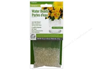 Floral Supplies $5 - $17: FloraCraft Water Beads Dehydrated Value Pack Clear