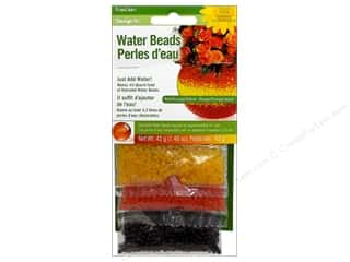 Anniversary Dollar Sale Butterfly: FloraCraft Water Beads Value Pack 3 piece Red/Orange/Yellow