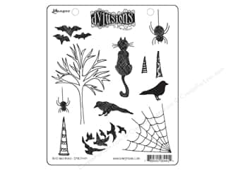 Rubber Stamping Clearance Crafts: Ranger Stamp Dylusions Rubber Bits & Bats