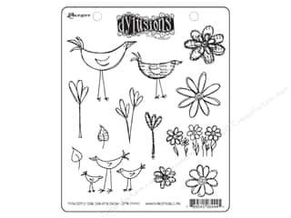Ranger Dylusions Stamp Rubber Your Garden Grow