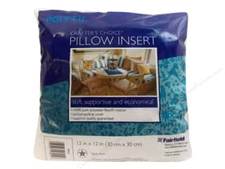 "Pillow Shams Craft & Hobbies: Fairfield Pillow Form Crafters Choice 12"" Square"