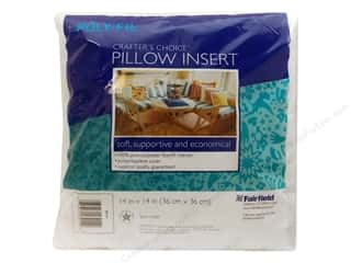 "Pillow Shams Craft & Hobbies: Fairfield Pillow Form Crafters Choice 14"" Square"
