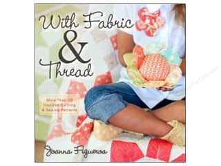 With Fabric & Thread Book