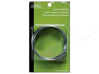 Quilter's Roll Clips by Dritz Longarm 6pc.