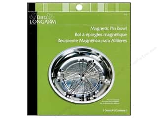 Needle Holders inches: Magnetic Pin Bowl by Dritz Longarm