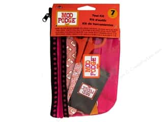 Rulers Gold: Plaid Mod Podge Tools Kit 7pc