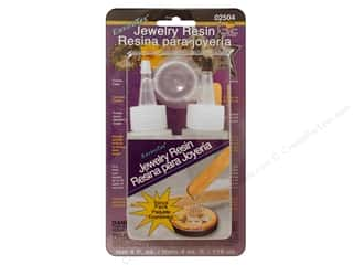 Resin, Ceramics, Plaster Brown: Envirotex Jewelry Resin 4oz Carded
