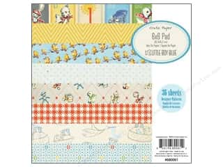 "Crate Paper Paper Pad 6""x 6"" Little Boy Blue"