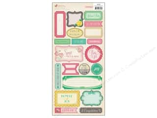 phrase stickers: Crate Paper Stickers Little Bo Peep Phrase
