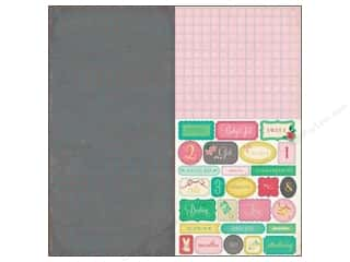 Crate Paper Stickers Little Bo Peep Alpha Labels