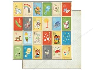 Crate Paper 12 x 12 in. Little Boy Blue Oliver (25 piece)