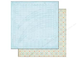 Crate Paper 12 x 12 in. Paper Little Boy Blue Franklin (25 piece)