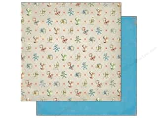 Crate Paper 12 x 12 in. Little Boy Blue James (25 piece)