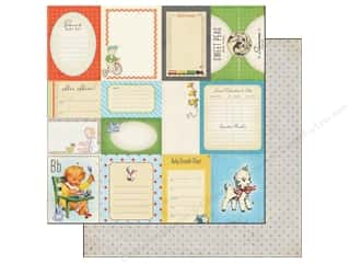 Crate Paper 12 x 12 in. Little Boy Blue Accent Cuts (25 piece)