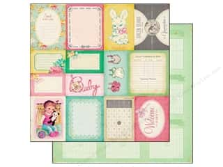 Crate Paper 12 x 12 in. Little Bo Peep Accent Cuts (25 piece)