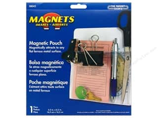 "Magnets Organizers: The Magnet Source Magnet Magnetic Pouch 6.5""x 6.5"""