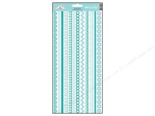 Borders Stickers: Doodlebug Stickers Cardstock Fancy Frills Swimming Pool