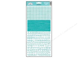 Doodlebug ABC & 123: Doodlebug Stickers Cardstock Teensy Type Swimming Pool