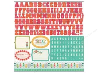 Echo Park Sticker 12x12 So Happy Together Alphabet (15 piece)