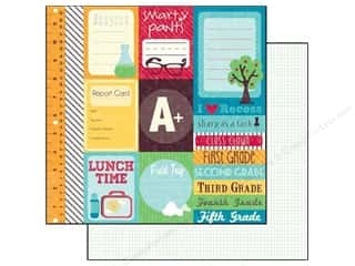 Echo Park Paper 12x12 School Days Journaling Cards (15 piece)
