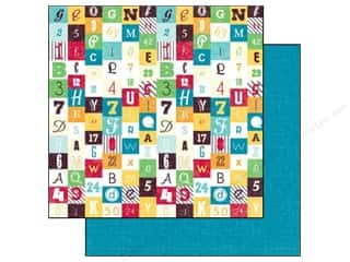 Echo Park 12 x 12 in. Paper School Numbers & Letters (15 piece)
