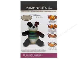 Weekly Specials Needle Felting: Dimensions Needle Felting Kits Panda Bear