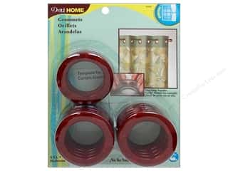 Dritz Home Curtain Grommets Large 1 9/16 in. Round Redwood 8pc